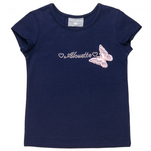 Top with strass details (2-5 years)