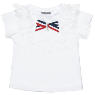 Top with delicate lace detailing (2-5 years)