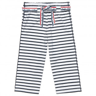 Loose trousers with stripes (6-14 years)
