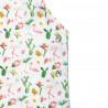 Ολόσωμη φόρμα σορτς με βολάν στους ώμους και σχέδιο με flamingo (12 μηνών-5 ετών)