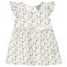 Φόρεμα φλοραλ με βολάν στα μανίκια (6 μηνών-5 ετών)