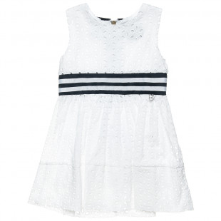 Broderie dress with zip-back fastening (2-5 years)