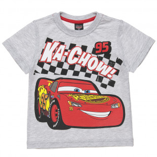 Disney Cars t-shirt decorated with Lightning McQueen print (2-6 years)