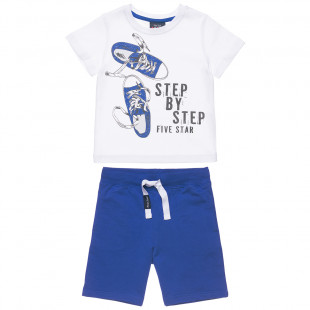 Set Five Star t-shirt with shorts (12 months-5 years)