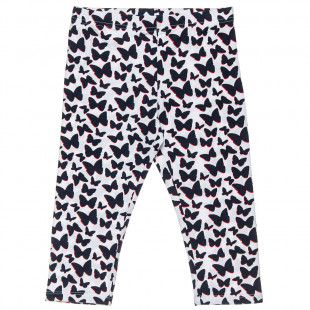 Leggings with all over butterfly pattern (6-14 years)