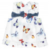 Σετ μπλούζα με χιαστή πλάτη και βρακάκι και κορδέλα (3-18 μηνών)