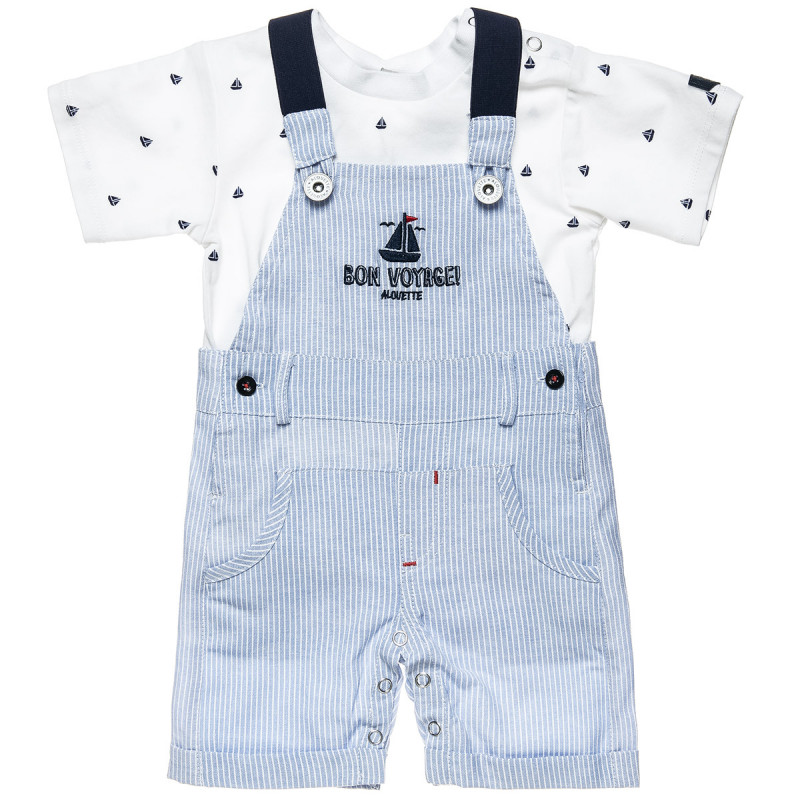 Overall with adjustable fasteners and top (3-18 months)