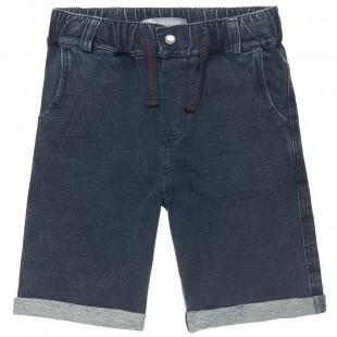 Denim shorts with elasticated waist (6-16 years)