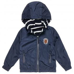 Double sided waterproof jacket with embroidery (6 months-5 years)