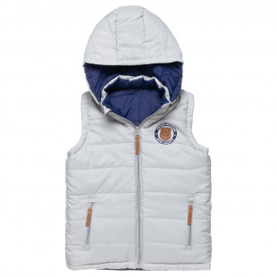 Double sided vest jacket with embroidery (6-16 years)