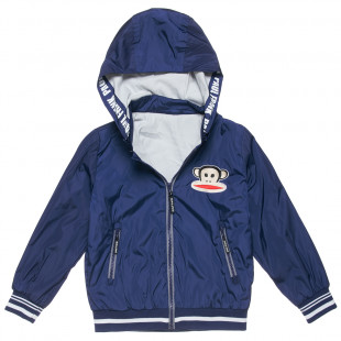 Waterproof Paul Frank jacket with embroidery (6-14 years)