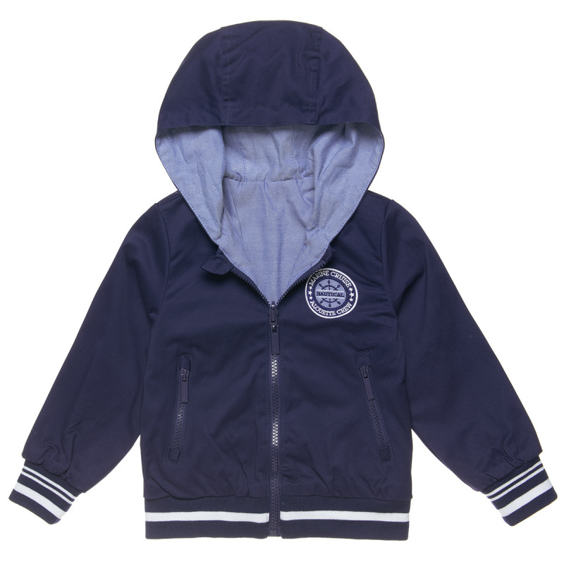 Double sided jacket with embroidery (12 months-5 years)