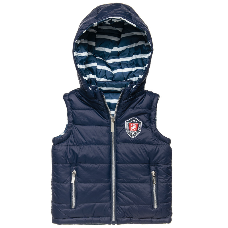 Double sided vest jacket with embroidery (12 months-5 years)