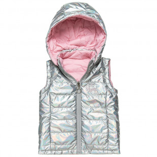 Double sided shiny vest jacket (12 months-5 years)
