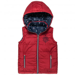 Double sided vest jacket with embroidery (6-14 years)