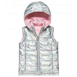 Double sided shiny vest jacket (6-14 years)