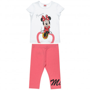 Set Disney Minnie Mouse top with leggings (12 months-5 years)