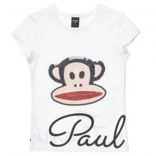 Μπλούζα Paul Frank με παγιέτες (18 μηνών-5 ετών)