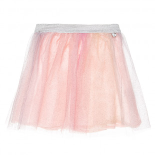 Skirt with tulle and glitter (2-5 years)