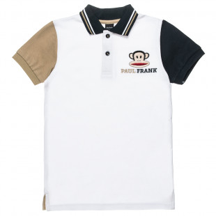 T-Shirt polo Paul Frank with embroidery (12 months-5 years)