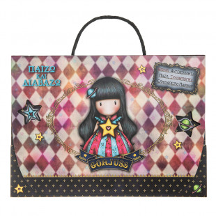"""Santoro box """"Play and learn"""" (books, stickers, puzzle, color pencils, table game"""""""