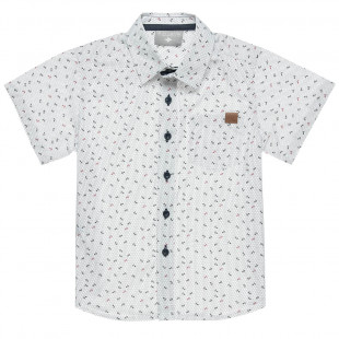 Shirt with pattern (6-16 years)