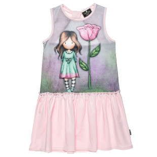 Dress Santoro with print (6-12 years)