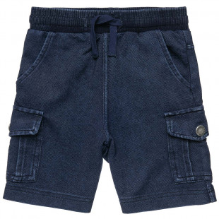 Shorts soft denim with pockets (4-12 years)