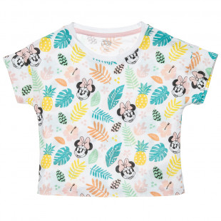 Top Disney with Minnie Mouse print (12 months-3 years)
