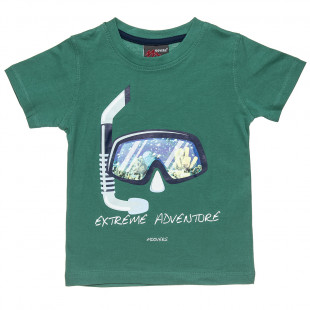 """T-Shirt Moovers with print """"Extreme Adventure"""" (12 months-5 years)"""