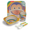 Set Fisher Price 5pcs monkey (6 months+)