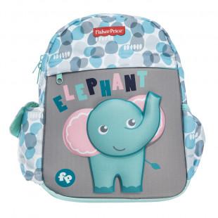 Backpack Fisher Price kindergarten 3D print elephant