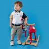 Μπλούζα polo Paul Frank με κέντημα (12 μηνών-5 ετών)