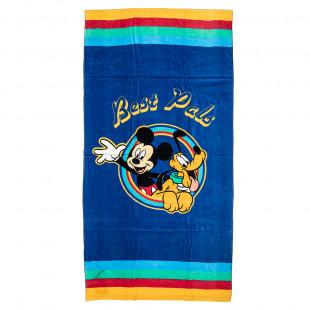 Πετσέτα θαλάσσης Disney Mickey & Pluto (70x140)