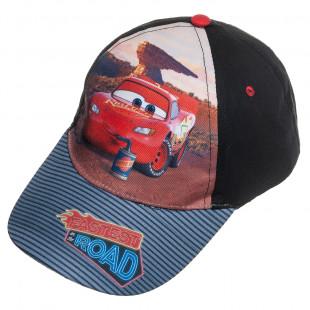 Καπέλο jockey Disney Cars (4-6 ετών)