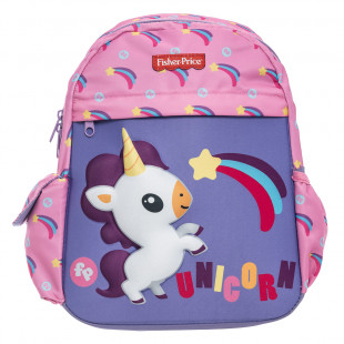 Backpack Fisher Price kindergarten 3D print unicorn