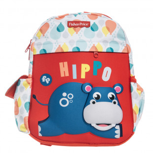 Backpack Fisher Price kindergarten 3D print hippo