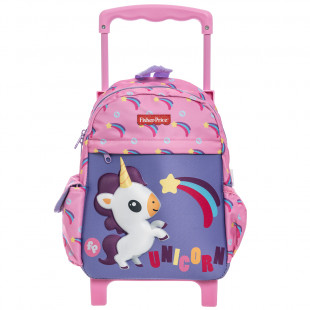 Trolley backpack Fisher Price with 3D print unicorn