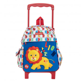 Trolley backpack Fisher Price with 3D print lion
