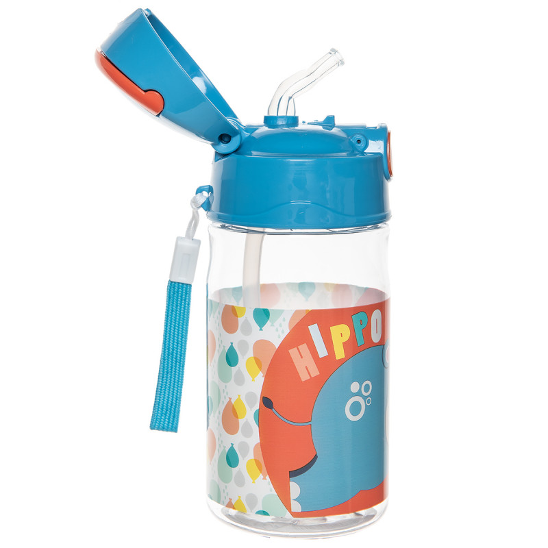 Bottle with straw Fisher Price Hippo