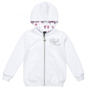 Cardigan Paul Frank with sequin, embroidery and print (6-14 years)