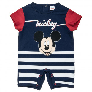 Babygrow Disney Mickey Mouse with stripes (1-9 months)