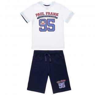 Σετ Paul Frank μπλούζα με τύπωμα και βερμούδα (6-16 ετών)