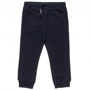 Παντελόνι φόρμας slim fit μονόχρωμο (12 μηνών-5 ετών)
