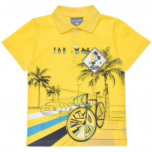 T-Shirt polo with print (12 months-5 years)