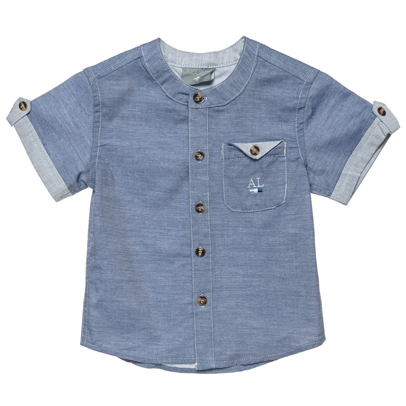 Shirt from soft denim (12 months-5 years)