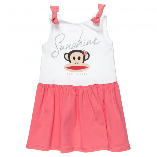 Dress Paul Frank with glitter detail (18 months-6 years)
