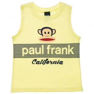 Μπλούζα αμάνικη Paul Frank με τύπωμα (12 μηνών-5 ετών)