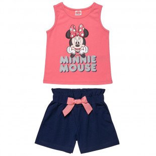 Set Disney Minnie Mouse top and shorts (18 months-5 years)