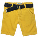 Shorts chinos with belt (6-16 years)